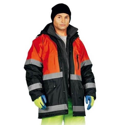 Куртка утепленная сигнальная Reis Orange (Польша)