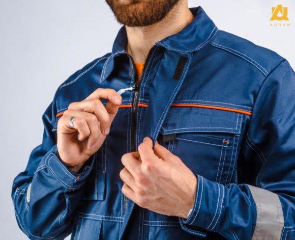 Куртка синяя хорошего качества